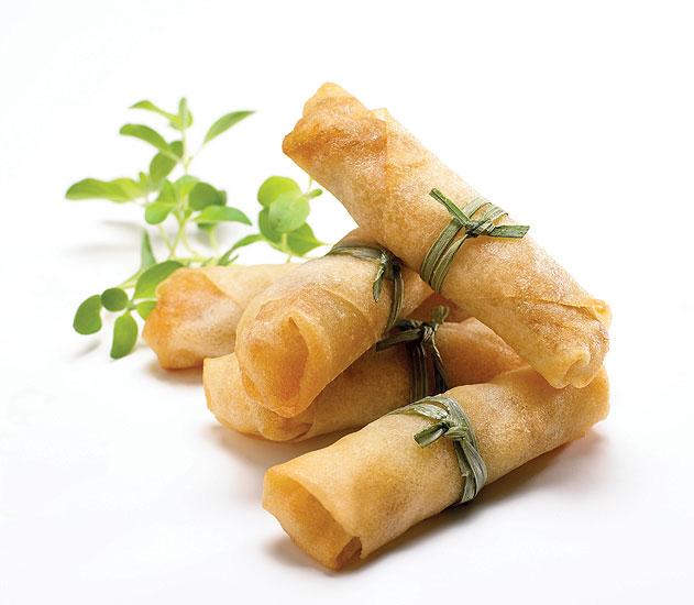 2. Veggie Spring Roll - Smile Thai Cuisine