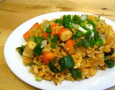 34. Chilli Pepper Fried Rice