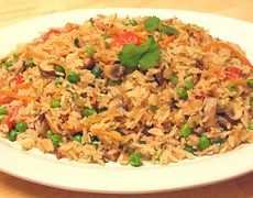 33. Stir Fried Jasmine Rice